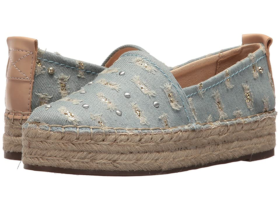 Circus by Sam Edelman Camdyn-1 (Light Blue/Natural Naked Ripped Denim/Glitter/Smooth Atando Veg) Women
