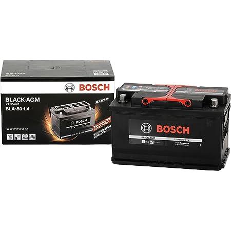 BOSCH (ボッシュ) 輸入車バッテリー ブラック-AGM BLA-80-L4