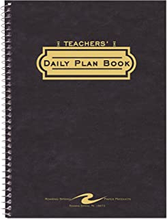 Roaring Spring Teacher's Plan Book, Green-Tint Paper, 11