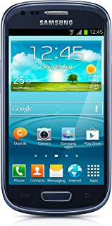Samsung Galaxy S3 Mini GT-i8200 Unlocked Cellphone, International Version, Retail Packaging, Blue