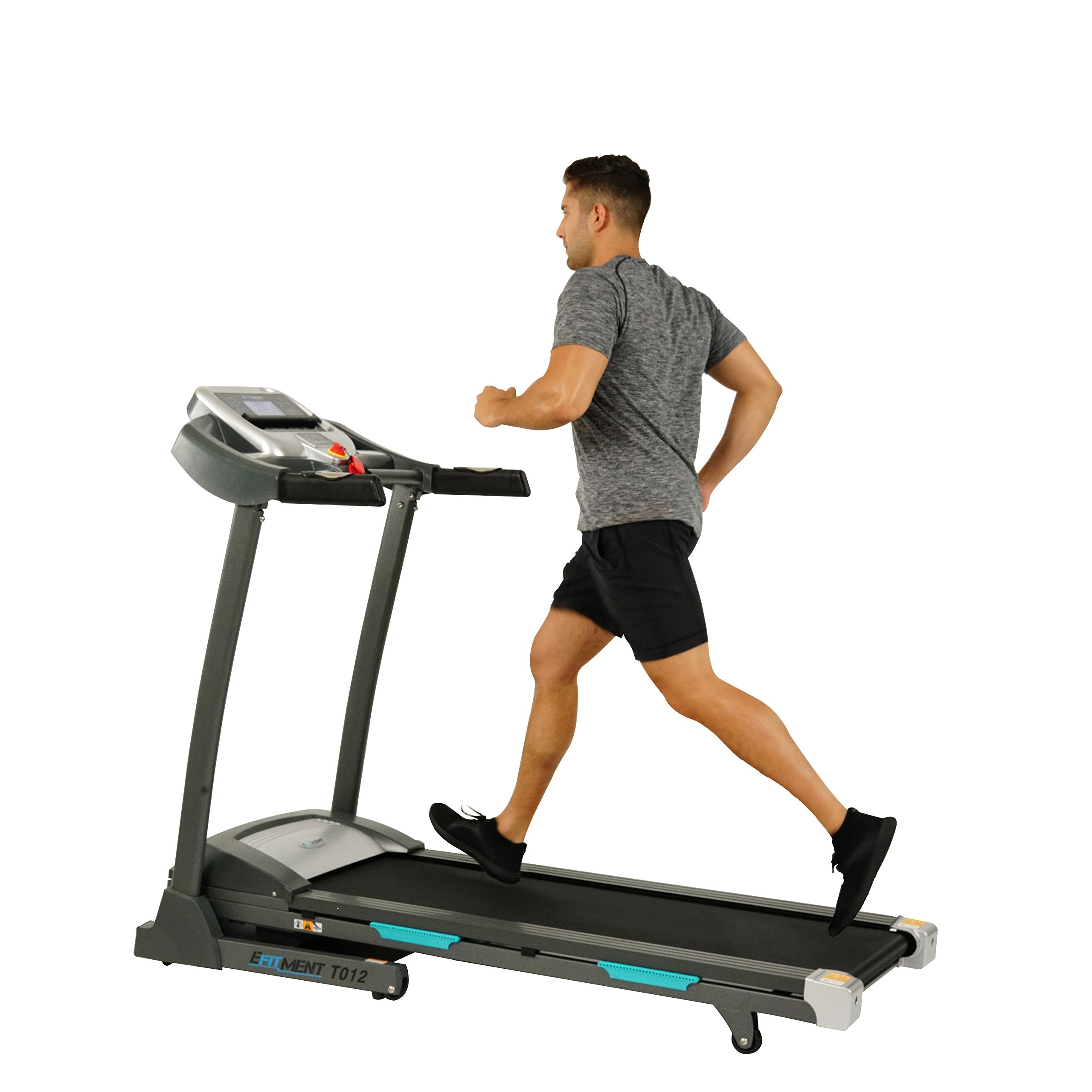 EFITMENT T012 Auto Incline Bluetooth Electric Treadmill at Amazon