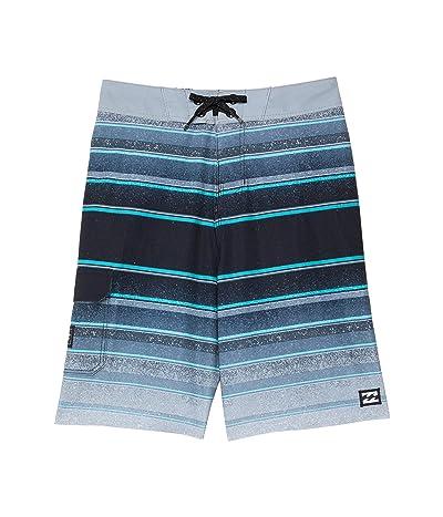 Billabong Kids All Day Stripe Pro Boardshorts (Toddler/Little Kids)