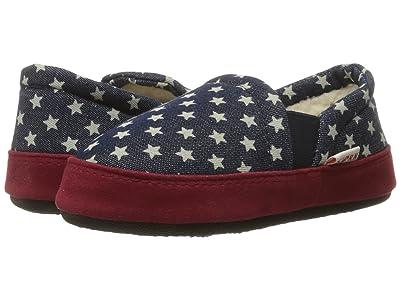 Acorn Kids Colby Gore Moc (Toddler/Little Kid/Big Kid) (Navy Stars) Kids Shoes