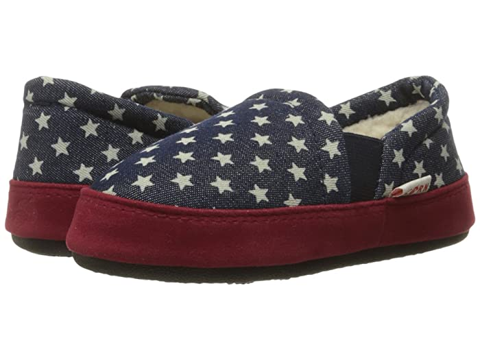 Image of Navy Blue Star Slippers for Boys and Toddler Boys