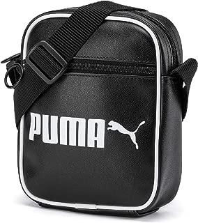Puma Campus Portable Retro Black Bag For Unisex, Size One Size
