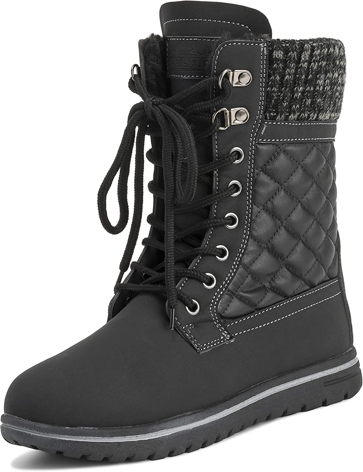 Womens Las Vegas Mall Waterproof Durable Snow Winter Ankle Hiking Super sale period limited Fleece Boots