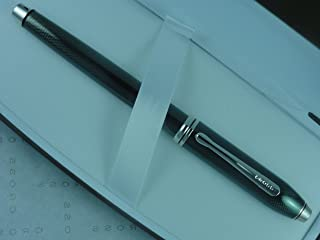 Cross Townsend Limited Edition Quartz Nile Green Townsend Gel Ink Rollerball Pen with Rhodium Appointment. Rare Collectible