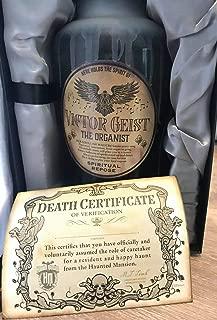Disney Parks Haunted Mansion 50th Anniversary Host a Ghost Passholder Exclusive Victor Geist Spirit Jar