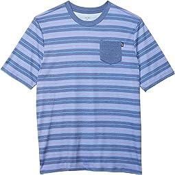 Army Stripe Knit T-Shirt (Little Kids/Big Kids)