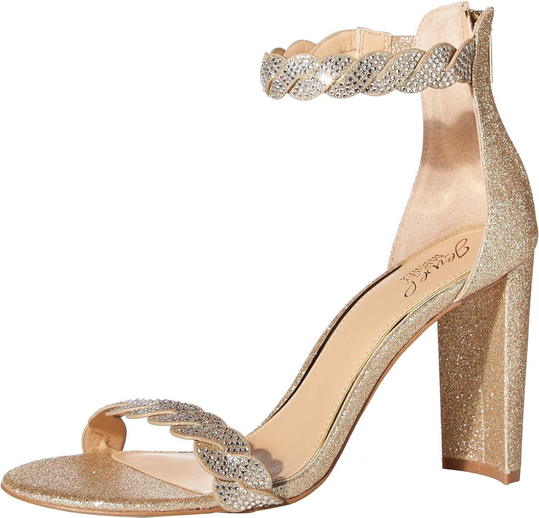 Jewel Badgley Mischka Women's Fionne Heeled Sandal
