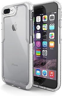 Capa Impact Pro, GEONAV, iPhone 7, iPhone 8, Capa Anti-Impacto, Branco/Transparente, 70 x 140 x 10 mm