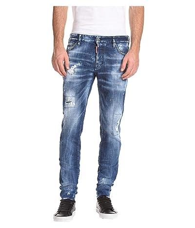 DSQUARED2 Slim Medium Country Wash Jeans in Blue (Blue) Men