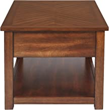 New Classic FURNITURE Graham End Table, Burnished Cherry
