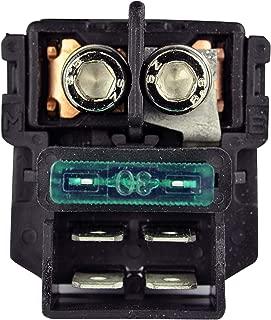 Starter Relay Solenoid Switch for Kawasaki Eliminator 125 / Ninja ZX6R ZX6RR ZX7R ZX7RR ZX9R ZX12R / Vulcan VN 800 900 1500 1600 2000 / ZRX 1100 1200R / ZZR 1200 1994-2010 | OEM# 27010-1327 27010-0786