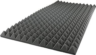 Foamily Acoustic Foam Sound Absorption Pyramid Studio Treatment Wall Panel, 48