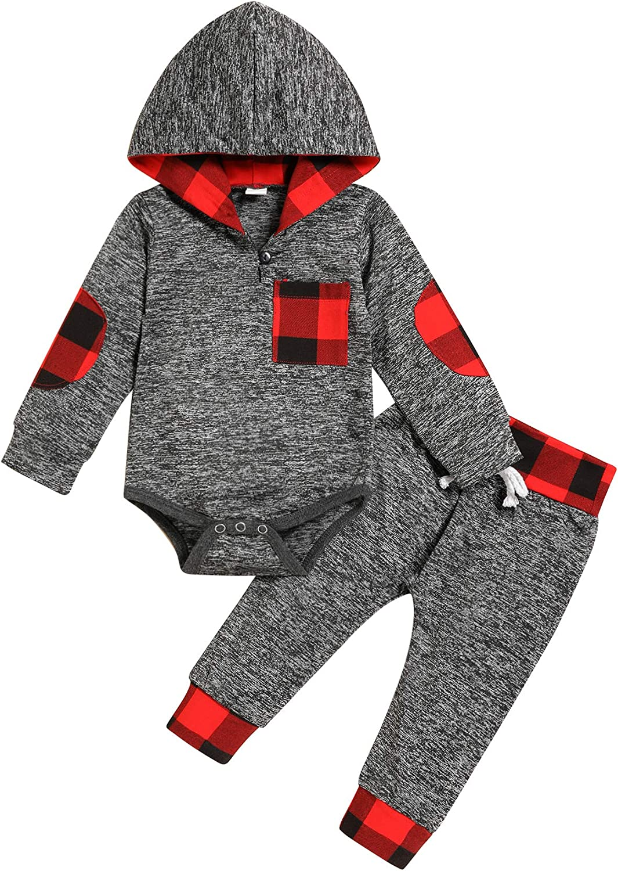 My Frist Valentine's Day Outfits Newborn Baby Boys Romper+Pants Gentleman Clothes 3Pcs Set