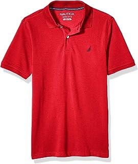 NAUTICA Boys' Toddler Short Sleeve Solid Polo
