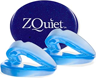 ZQUIET Anti-Snoring Mouthpiece Solution, 2-Size Comfort System Starter Kit - Made in USA & FDA Cleared, Natural Sleep Aid ...