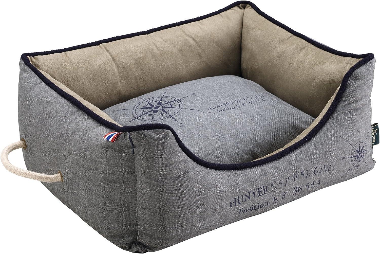 Hunter Dog Sofa List, 80 x 60 cm, Grey