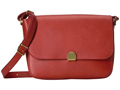Madewell Abroad Shoulder Bag (Dark Cinnabar) Handbags