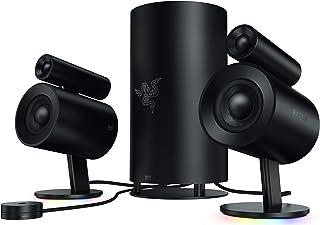 Razer Nommo Pro: Thx Certified Premium Audio Sistema de Altavoces para Juegos, Sonido Envolvente Dolby Virtual, Negro, Talla Única