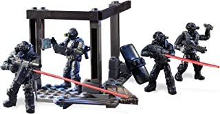 Mega Construx Toy - DXB61 - Call of Duty - Night Ops Blackout Squad - 117 Piece 4 Figure Playset