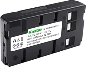 Kastar Video Camera Battery Replacement for Panasonic PV-BP18 PV-BP17 PV-BP15 HHR-V20A/1B HHR-V40A/1B VW-VBH1E VW-VBH2E VW-VBR1E VW-VBR2E VW-VBS1 VW-VBS1E VW-VBS2 VW-VBS2E