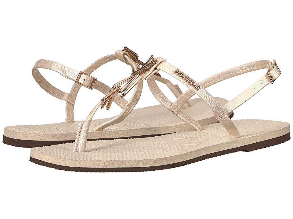 Havaianas You Riviera Maxi Sandals (Beige) Women