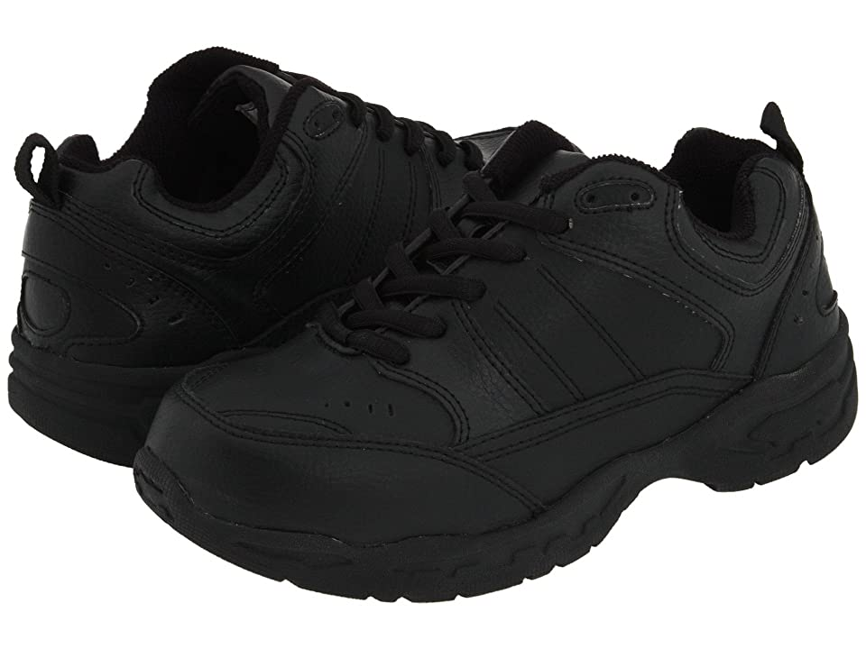 School Issue Athletic (Toddler/Little Kid/Big Kid) (Black Leather) Boy