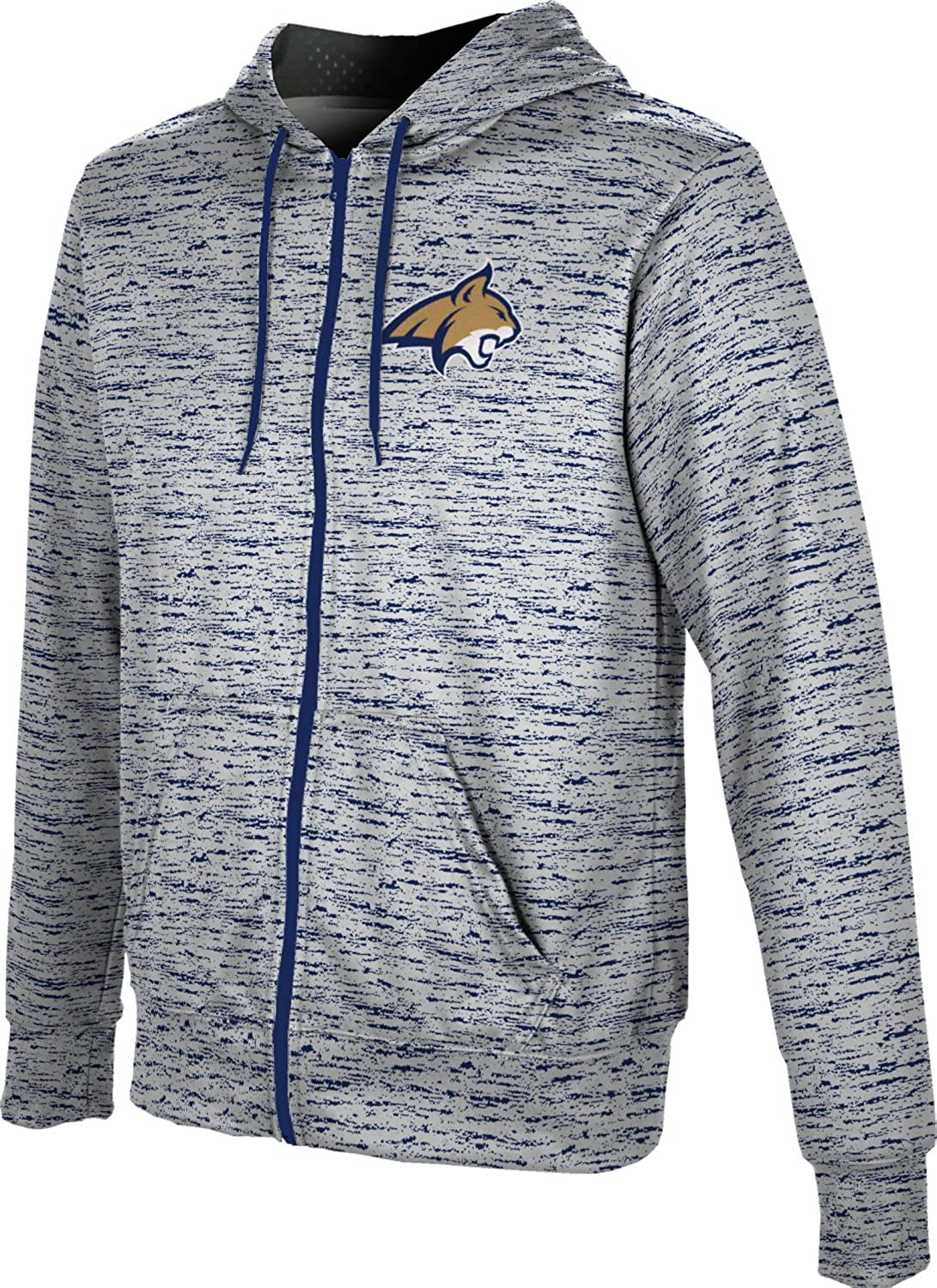 Montana State University Boys' 4 years warranty Zipper Spirit Swea Special price for a limited time School Hoodie