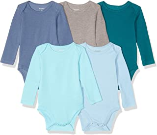 Ultimate Baby Flexy 5 Pack Long Sleeve Bodysuits