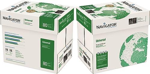Papier universel A4-80g/m² - Navigator 10x Reams (5,000 Sheets) - 2x Box