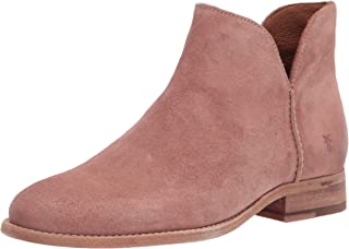Frye Women's Melissa Shootie Ankle Boot, Light Rose, 10