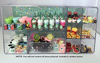 LPS Littlest Pet Shop 6 PC Random Coffee Food Accessories Lot