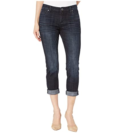 KUT from the Kloth Petite Catherine Boyfriend Jeans in Depth Wash (Depth Wash) Women