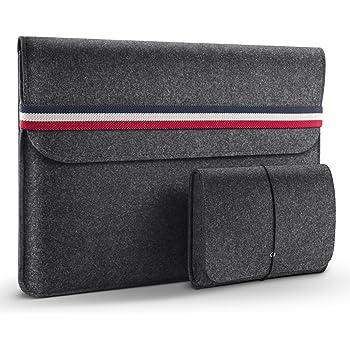 HOMIEE Custodie Morbide Custodia MacBook Borse per PC Portatili 13-15.6 in...