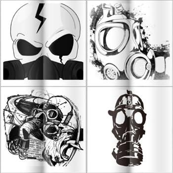 Graffiti Gas Mask Drawing