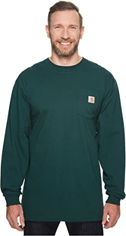 Big & Tall Workwear Pocket L/S Tee