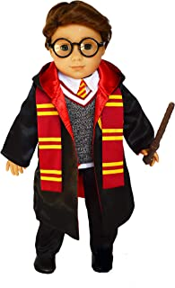 Brittany's Wizard Outfit Compatible with American Girl Boy Dolls- 18 Inch Doll Clothes