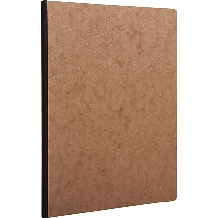 couverture souple Clairefontaine 115478C Un cahier broch/é Funny Company 160 pages ivoire 10,5 x 14,8 cm 90g unies dos carr/é cousu fil couverture motif al/éatoire