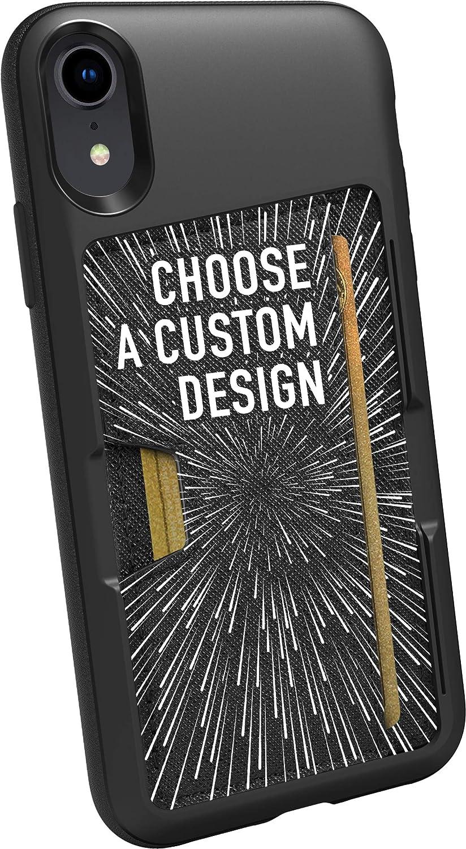 Smartish iPhone XR Wallet Case - Wallet Slayer Vol. 2 [Slim Protective Kickstand] Credit Card Holder for Apple iPhone 10R (Silk) - Secret Menu