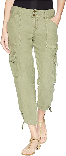 Terrain Linen Crop Pants