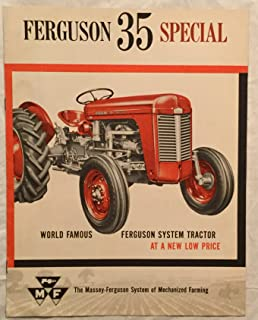 1965 Massey- Ferguson 65 Diesel Special Sales Brochure in Color!