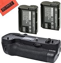 Battery Grip Kit for Nikon D500 Digital SLR Camera (Replacement For MB-D17) - Includes Qty 2 EN-EL15 Batteries + Vertical Battery Grip