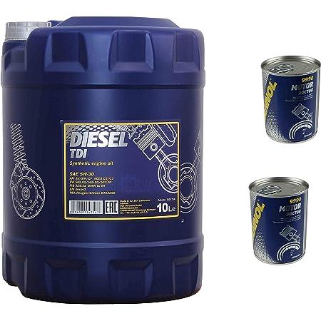 10l Motoröl Mannol Diesel Tdi 5w 30 2x Motor Doctor Additiv Auto