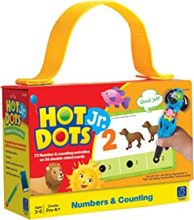 Educational Insights 2353 Hot Dots Jr. Numbers and Counting Card Set
