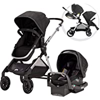 Evenflo Pivot Xpand Travel System with SafeMax Infant Car Seat (Stallion / Percheron)