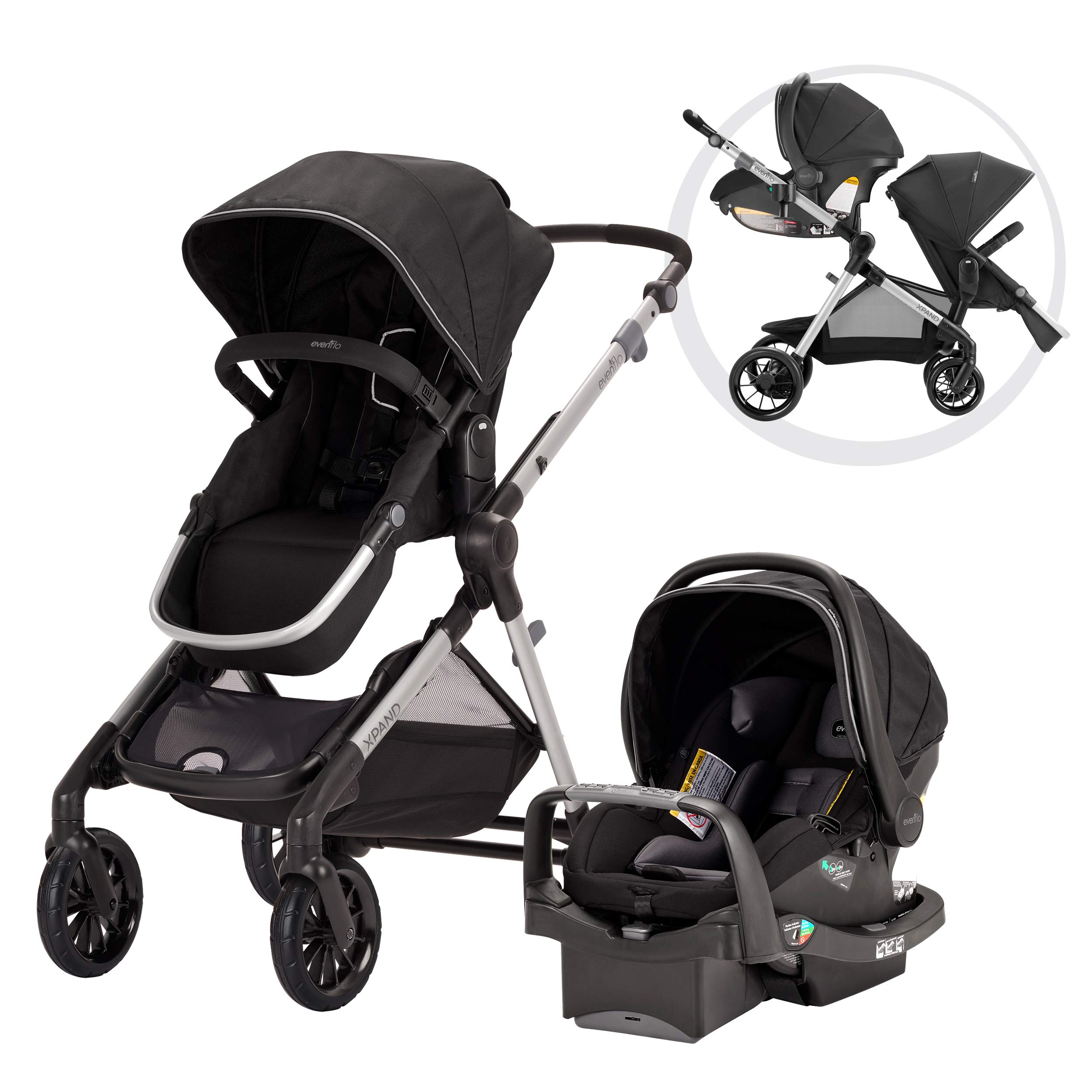Evenflo Stroller Configurations Extra Large Construction
