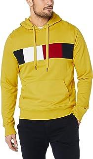 Tommy Hilfiger Men's Colour-Blocked Drawstring Hoody