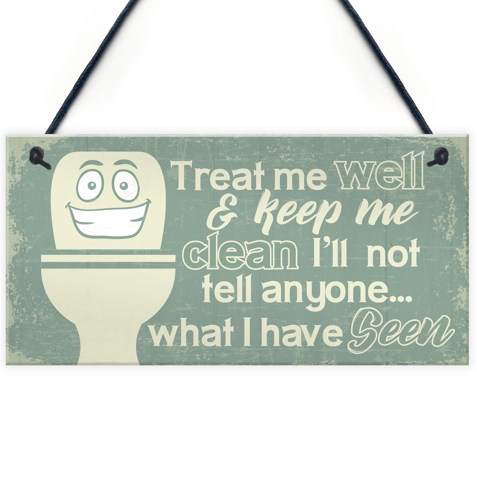 You Dont Have To Brush All Your Teeth Funny Sign Bathroom Plaque 907